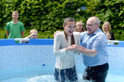 Taufe in der FeG