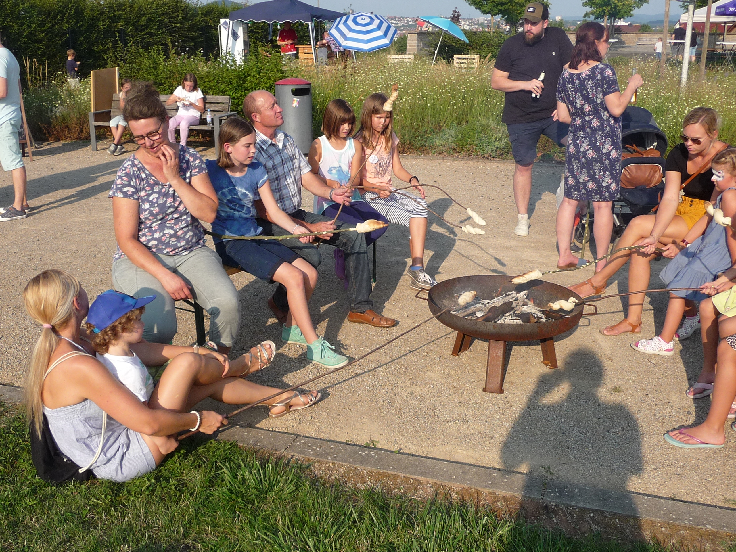 Sommerfest auf der Fulda Galerie